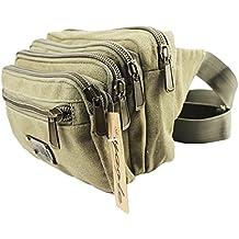 Ezyoutdoor Zipper Fanny Pack Waist Pack For Man Women Outdoors Running Climbing Carrying