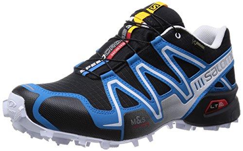 Salomon Speedcross 3 Gtx - para hombre, Azul - Blau (Black/Methyl Blue/White), 42