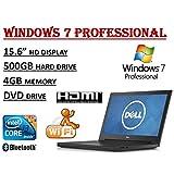 2017 Edition ~ Dell Inspiron 15 3000 I3558 Laptop ~ Intel Core I3-5005U Processor ~ 4GB RAM ~ 500GB HDD ~ DVDRW...