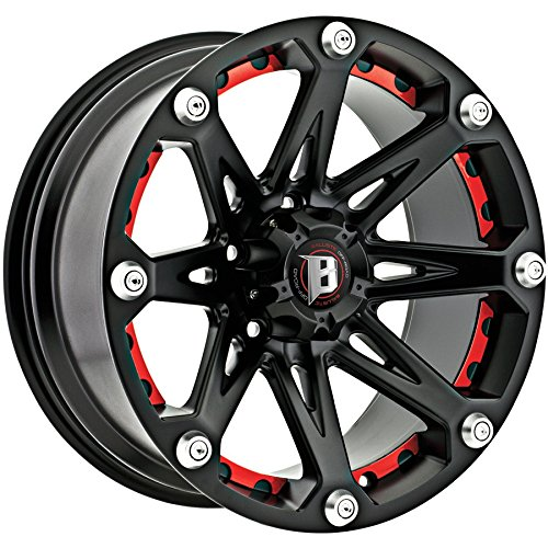 Ballistic Jester 17×9 Black Wheel / Rim 5×5 with a -12mm Offset and a 83.70 Hub Bore. Partnumber 814790550-12FB