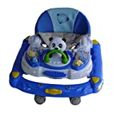 Baby Mix Blue And White Coloured Baby Walker