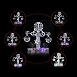 Coolplay CP9045A DIY 3D Crystal Puzzle with Flash Light Constellation Series - Libra