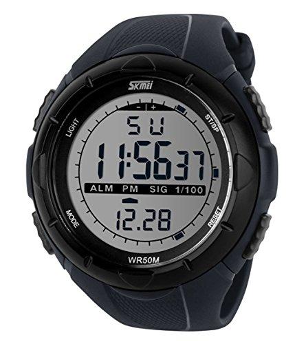 89e98c994 SKMEI Men s SK1025A Digital Sports Watch Grey Best Deals With Price ...