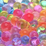 2oz pack- (Almost 4,000 !!!!!) Jelly BeadZ (Tm) Water Bead Gel- Rainbow Mix