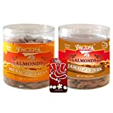 Chocholik Dry Fruits - Almonds Mexican Salsa & Jamaican Jerk With 3d Mobile Cover For IPhone 6 - Diwali Gifts...