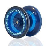 MAGICYOYO Spin K1 ABS Yoyo for Beginners 2014 New K1 PVC Professional Yoyo Hubstacks (Blue)