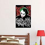 Warner Bros  'Joker Hahaha' Peel And Stick Wall Decal (60 Cm X 91 Cm)