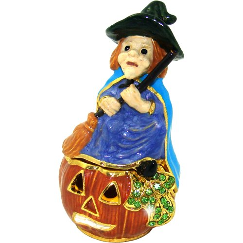 Withchiepoo Halloween Witch Trinket Box