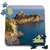 Danita Delimont - Italy - Torre del Capo Conca Tower along the Amalfi Coast, Campania, Italy - 10x10 Inch Puzzle (pzl_227454_2)