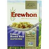 Erewhon Organic Crispy Brown Rice Cereal Gluten Free 10 OZ