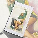 Pixy Ink Vintage Pin-Up Poster Print Baa Baa Black Sheep, C. 1947 - By Earl Moran