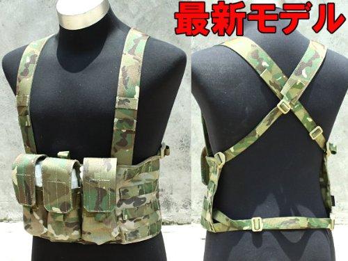 TMC社製 EAGLEタイプレプリカ チェストリグ(M4/AKマガジン対応) MC(マルチカム)