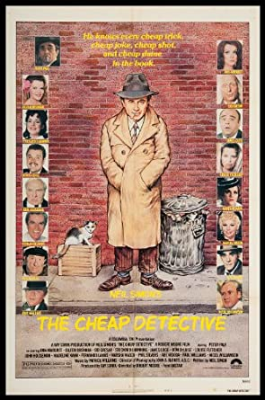 The Cheap Detective 1978 ORIGINAL MOVIE POSTER Ann Margret