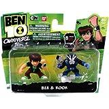 Ben 10 Omniverse 2 Inch Mini Figure 2-Pack Ben & Rook