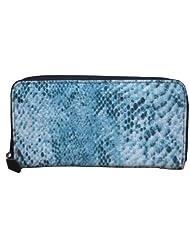 Spice Art Canvas Wallet (Sky Blue)