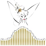 Roommates Disney Fairies Tinkerbell Headboard Peel And Stick Giant Wall Decal (Multi-Color)