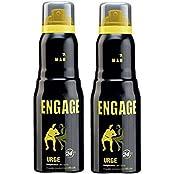 Engage Man Bodylicious Deodorant Spray - Urge (150ml) (Pack Of 2)