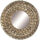 "Deco 79 48670 Metal Wall Mirror 38"" D -"