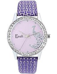 Cavalli Pink Dial Analog Watch- For Women - B01KVCOY80