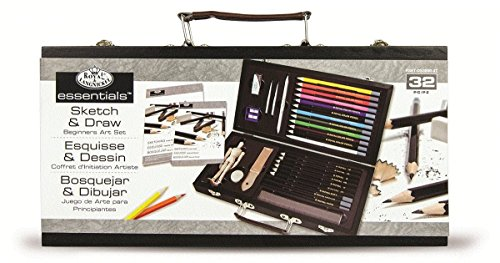 Royal futhi Langnickel sketching kanye Drawing Artist Set for Beginners