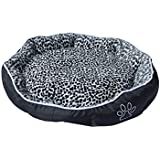 ALEKO® PB05M Medium 24X20X5 Inch Soft Plush Pet Cushion Crate Bed For Dogs And Cats With Removable Insert Pillow...