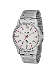 AXE Style Casual Analogue White Dial Men's Watch - X0113C_White