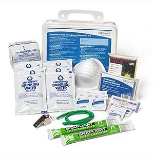 Personal 3 Day Emergency Response Kit
