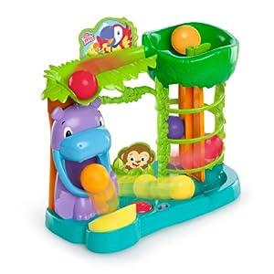 Amazon.com : Bright Starts Baby Toy, Jungle Fun Ball