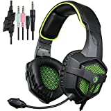 Gaming Headset For PS4 Xbox360 Macbook PC IPhone Smart Phone Laptop IPad IPod Mobilephones Sades SA-920 Pro Headset...