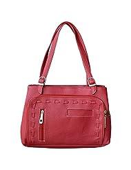 Trendy & Stylish Maroon Hand Bag - (SWND)