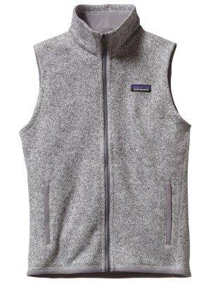 Patagonia Women Better Sweater Fleece Vest Birch White 25886