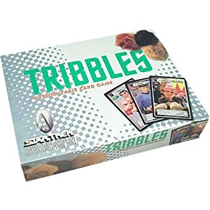 Click to buy Star Trek Tribbles card game from Amazon!