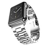 [Best Apple Watch Stainless Steel Band Strap Bracelet] Niutop Precision Classic Polishing Stainless Steel Band...