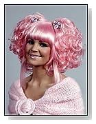 Karmae Anime Halloween Costume Pink Wig