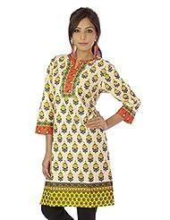Shopping Rajasthan Exclusive Pure Cotton Handloom Handweaved Block Print Design Kurti Top - B00PHBZ47G
