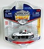 Jada Badge City Heat Japanese Police '03 Nissan 350Z Black/White #022 by Jada