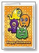 Happy Halloween Monsters