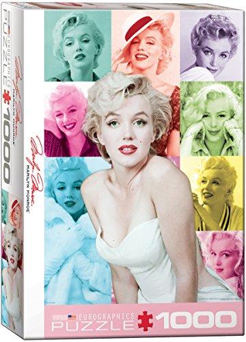 EuroGraphics Marilyn Monroe Color Portrait (1000 Piece) Puzzle