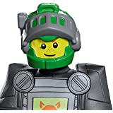 Disguise Aaron LEGO Nexo Knights LEGO Mask, One Size Child, One Color