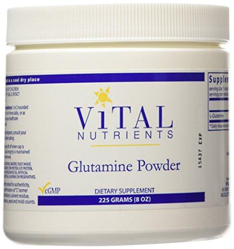 Vital Nutrients Glutamine Powder 8 oz