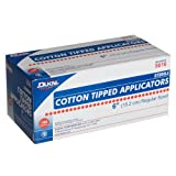"""Dukal Cotton Tipped Applicators, 6"""", Sterile, 100-Count Boxes (Pack Of 2)"""