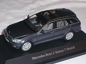 Mercedes-Benz C-klasse T-modell Kombi Anthrazit W204 1/43