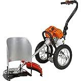 Ojal Hand Push Brush Cutter Steel Gardening Tool Set (33 Cm X 31 Cm X 45 Cm, Orange)