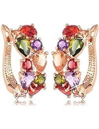 YouBella Jewellery Valentine Collection AAA Swiss Zircon Fancy Party Wear Earrings For Girls And Women