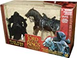 Lord of the Rings Fellowship of the Ring Ringwraith with Horse Action Figure 2-Pack