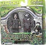Lord of the Rings Aragorn & Uruk-hai Mini Figures