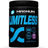 Magnum Nutraceuticals Limitless Extreme Pre-Workout Fearless Fruit Punch With A Peach Kicker Trial Size 2. 7 Oz...