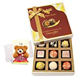 Exquisite Collection Of White Chocolates With Sorry Card - Chocholik Luxury Chocolates