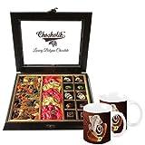 Chocholik Classic Combination Of Chocolates & Dry Fruits With Special Coffee Mugs - Chocholik Belgium Chocolates