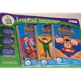 Leap Pad Interactive Books And Cartridges: Music, Hit It, Maetro; Science, I Know Where My Food Goes; Reading,...